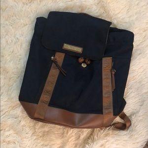 Dark blue backpack